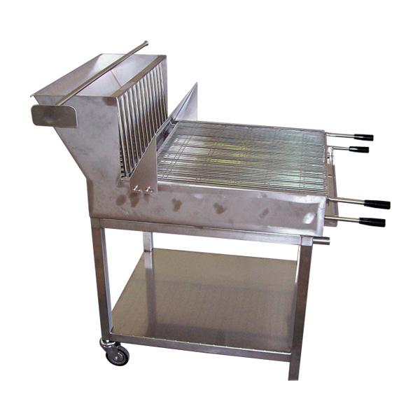 Barbecue per esterni acciaio inox AISI 304