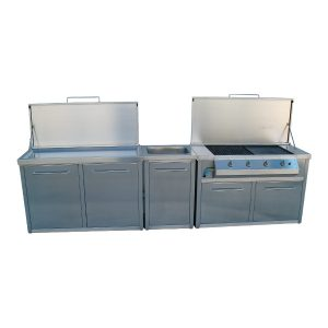 Kitchen garden stainless steel AISI 304