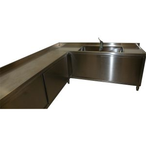 AISI 304 stainless steel community kitchen