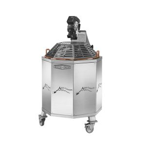 Polenta Mixer in stainless steel AISI 304 motorized