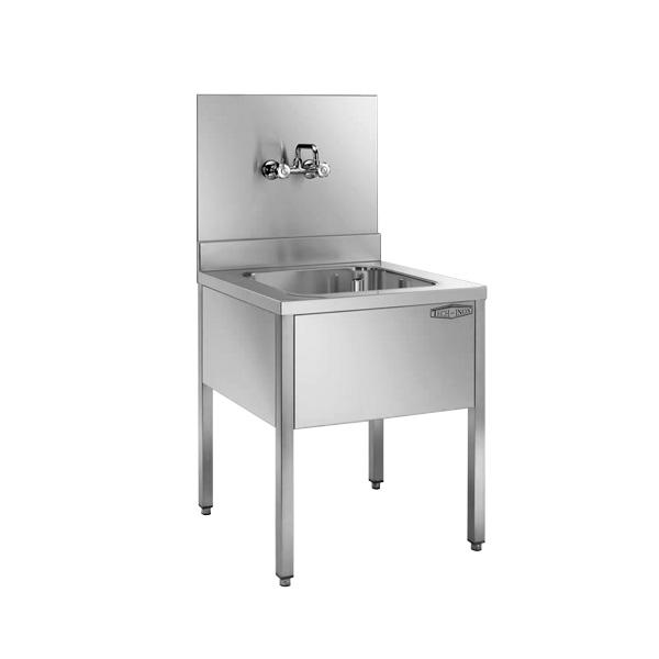 Vasca lavatoio in acciaio inox AISI 304