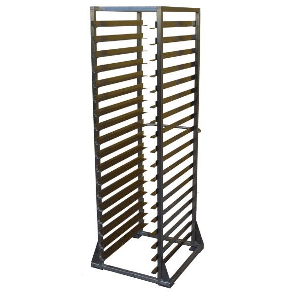 Carrello Porta Teglie in acciaio INOX